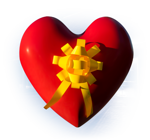 Heart (Yellow Ribbon)